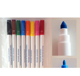 ROTULADOR ALIMENTARIO DE DOBLE PUNTA SET DE 8 COLORES